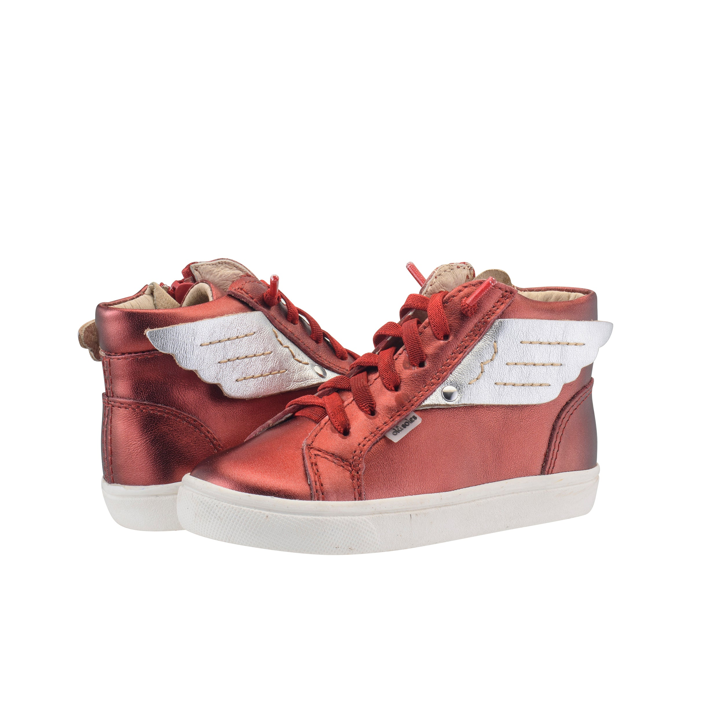 Local Wings -Burnt Red / Silver