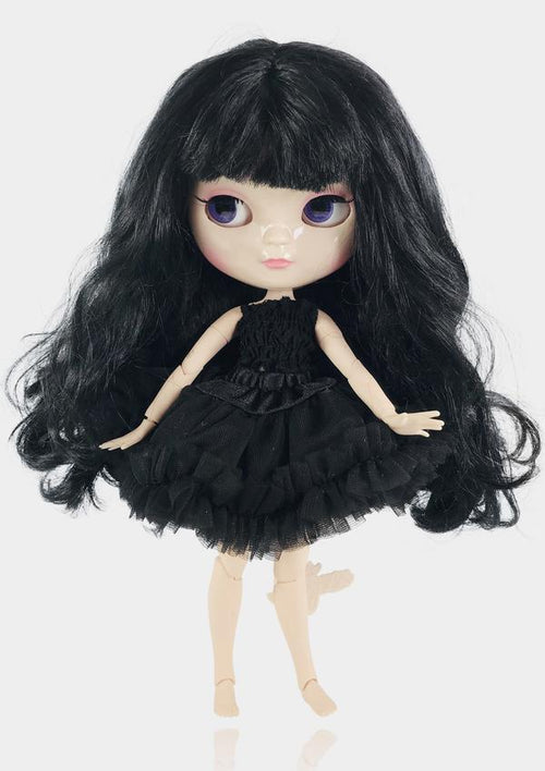ANGELA DOLL ICY DOLL - BLACK