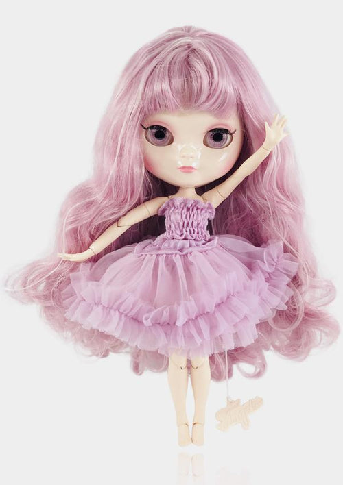 ANGELA DOLL ICY DOLL - VIOLET