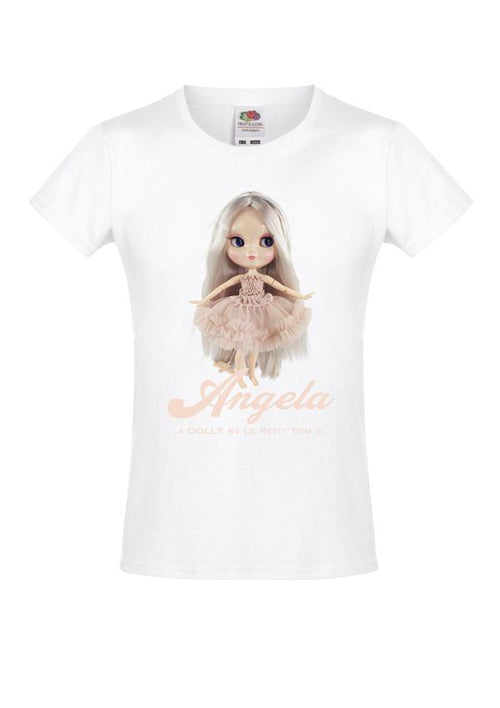 T-SHIRT ANGELA DOLL - BALLET PINK