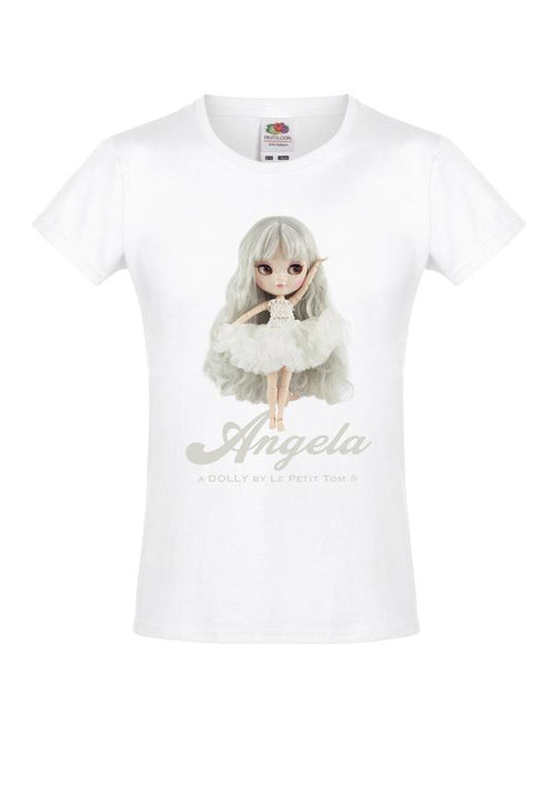 T-SHIRT ANGELA DOLL WHITE