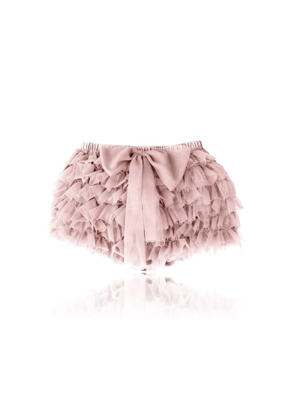 FRILLY PANTS TUTU BLOOMER - BALLET PINK