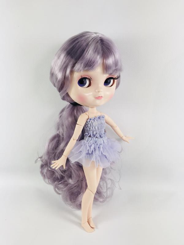 ANGELA DOLL ICY DOLL - LAVENDER