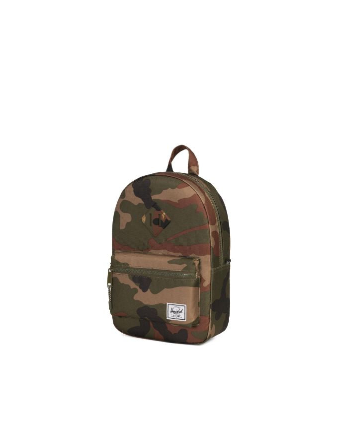 Heritage Backpack Kids - Woodland Camo