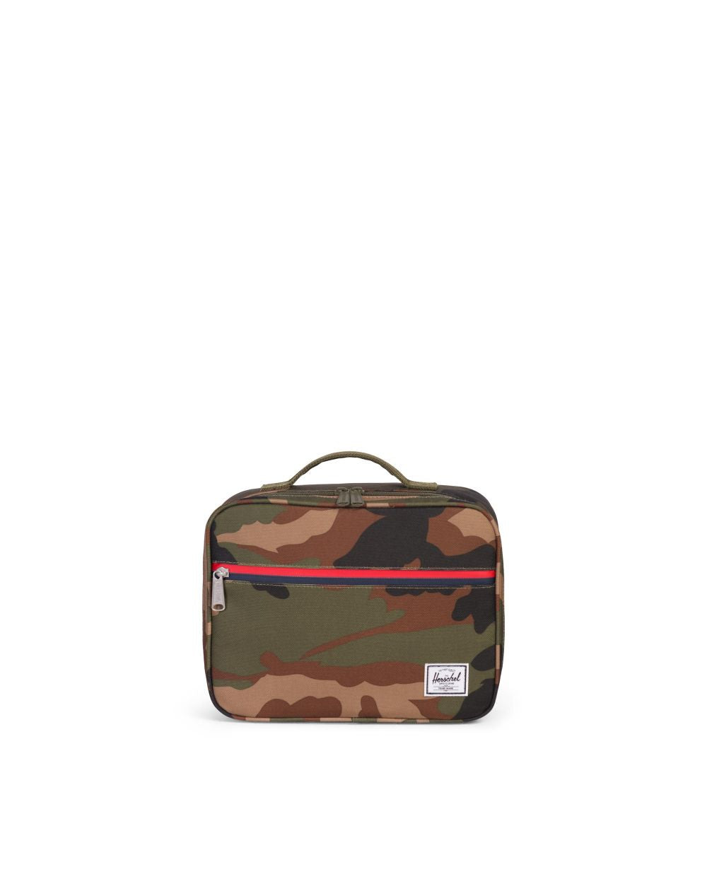 Pop Quiz Lunch Box - Woodland Camo