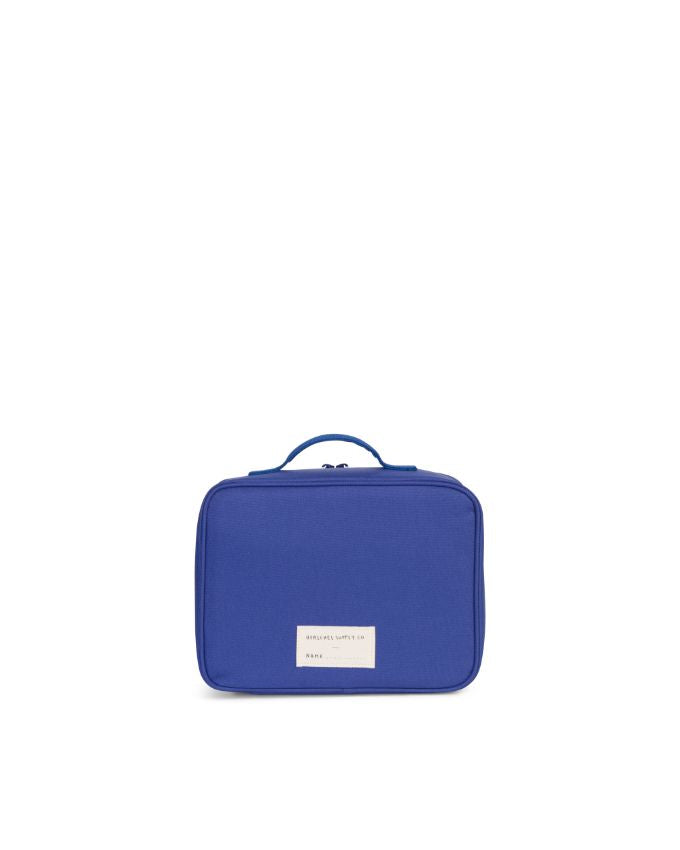 Pop Quiz Lunch Box - Deep Ultramarine/Checker/Woodland Camo