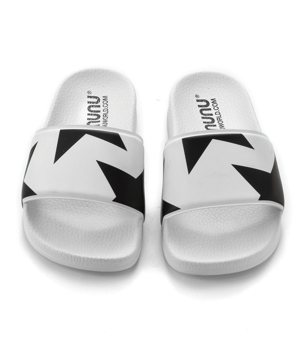 Stars Sliders - White