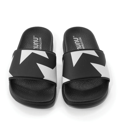 Stars Sliders - Black