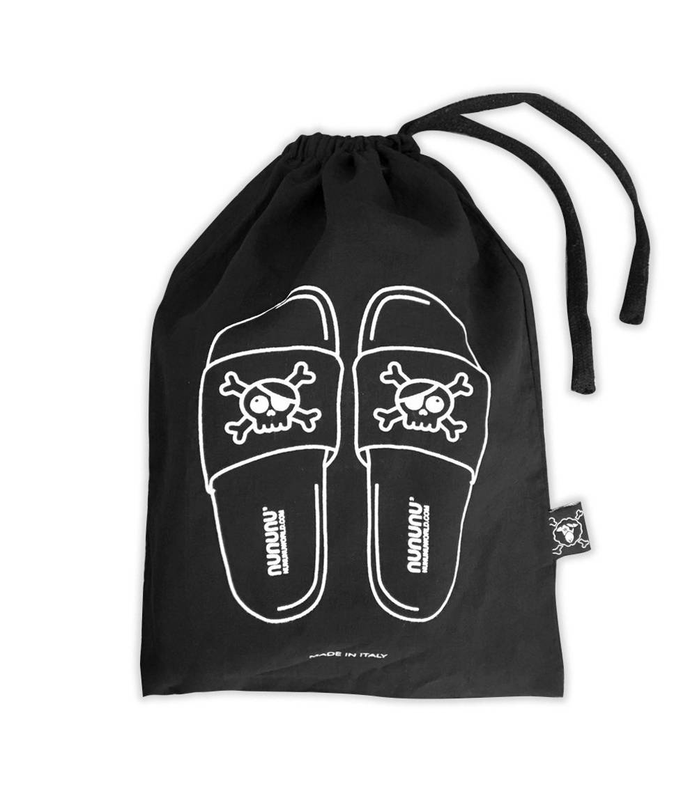 Skull Sliders - Black
