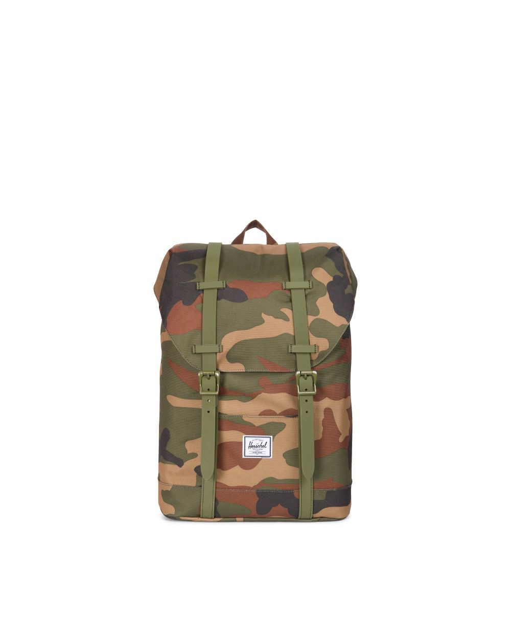 Retreat Backpack Youth - Woodland Camo Army Rubber