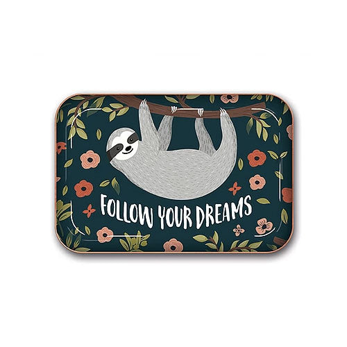 מגש מעוצב - Follow Your Dreams Sloth