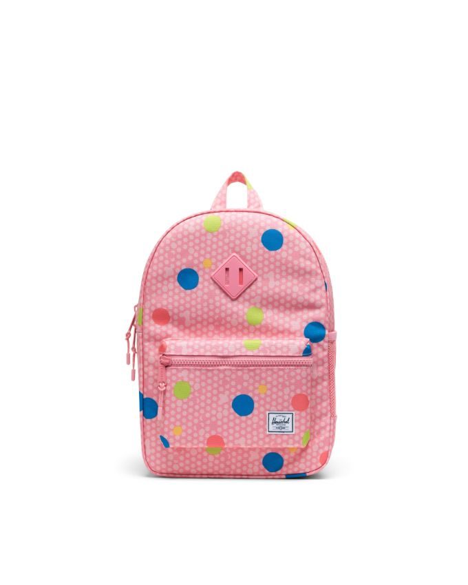 Heritage Backpack Youth - Primary Polka