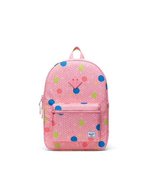 Heritage Backpack XL Youth - Primary Polka