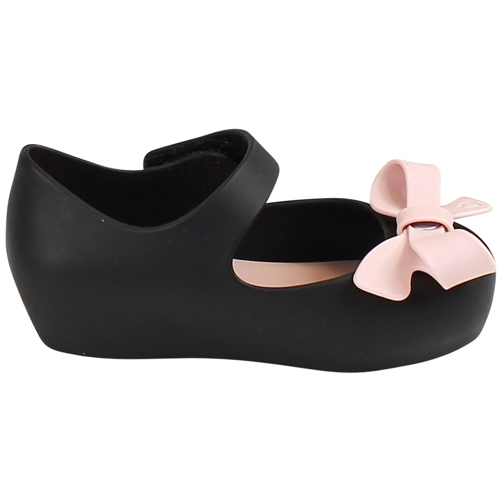 MINI ultragirl bow - black/pink