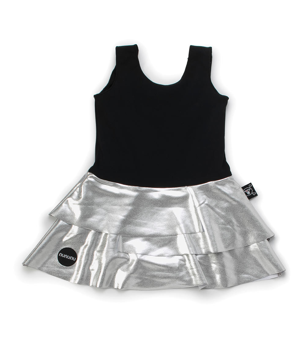 skirtini - black/silver