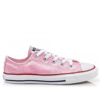 All star metallic - LIGHT PINK  (27-35)