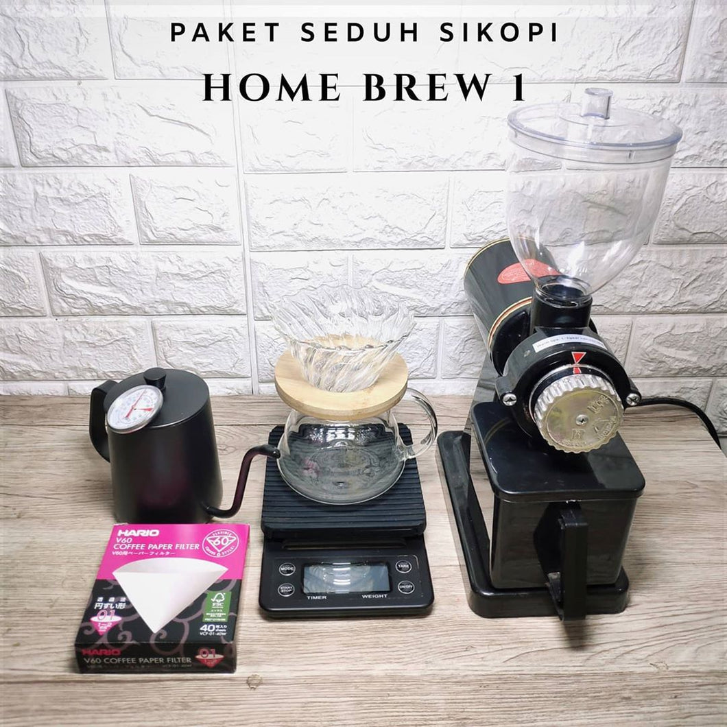 Paket Home Brew 1 | Manual Brew V60 Single Origin Lover