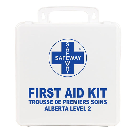 Alberta Level 2 P24 Plastic First Aid Kit