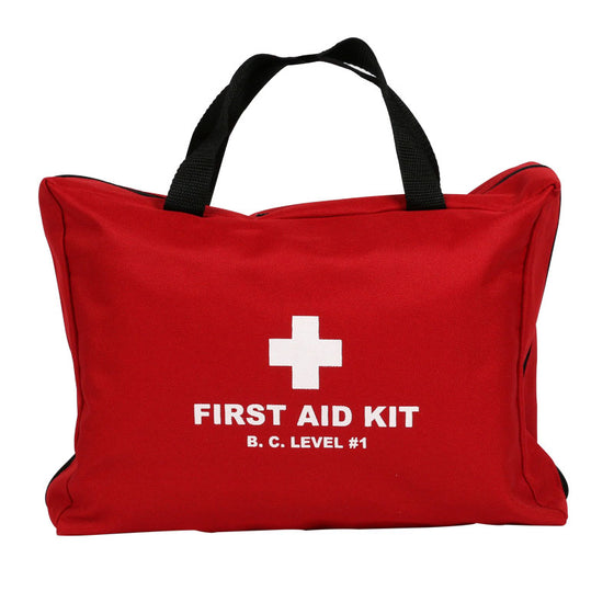 BC Level 1 Soft Pack First Aid Kit