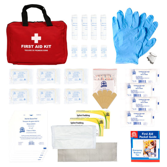 Ontario WSIB Level 1 Soft Pack First Aid Kit