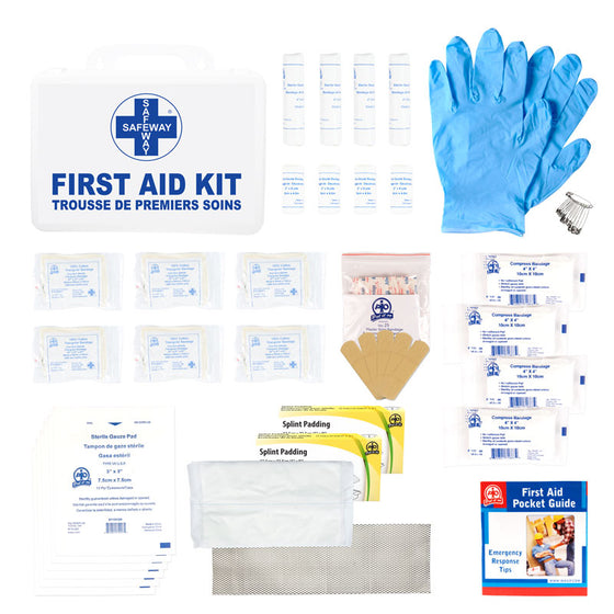 Ontario WSIB Level 1 P16 Plastic Bulk First Aid Kit