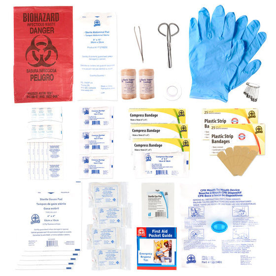 Alberta Level 2 Unitized Refill First Aid Kit