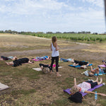 Yoga at Bellarine Estate