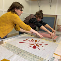 Screen-printing textiles for beginners