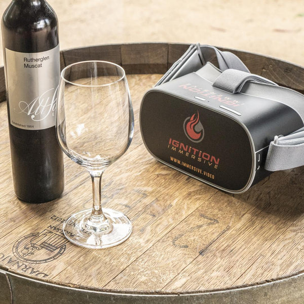 Immersive VR Wine Bar Session - Seville Estate