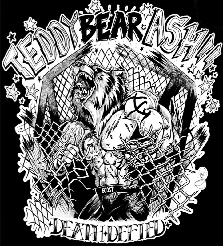 "Death Defied MMA collaboration with Teddy ""Bear"" Ash!"