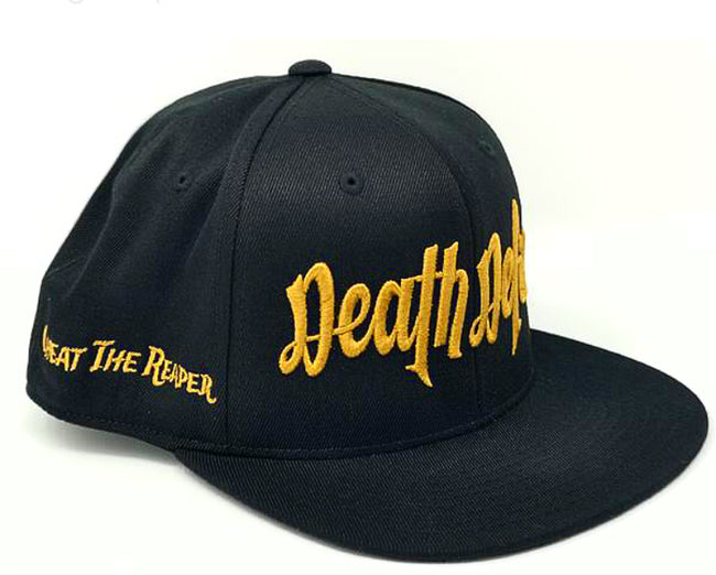 Gold on Black Snapback