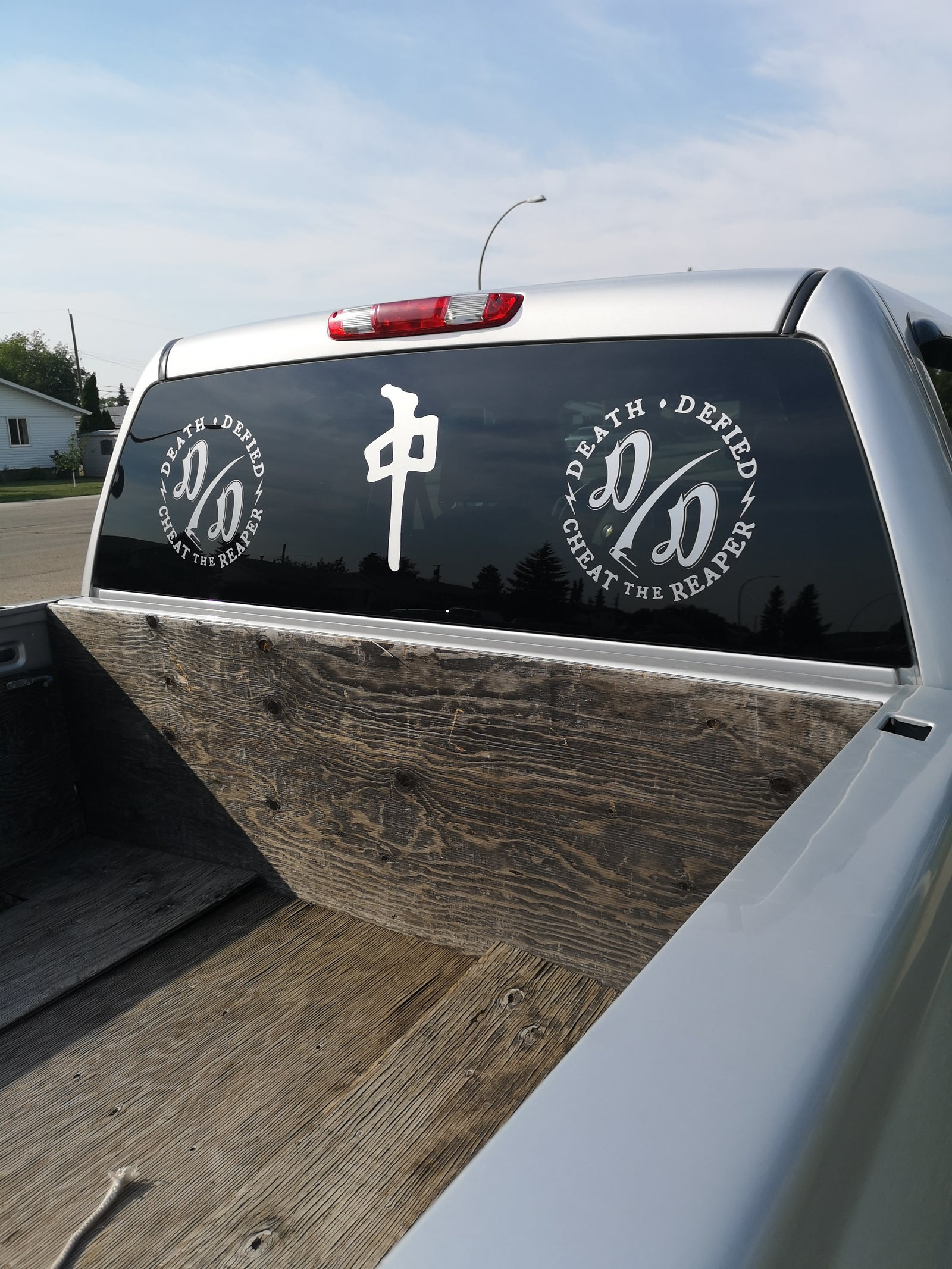 1ft x 1ft vehicle Decal