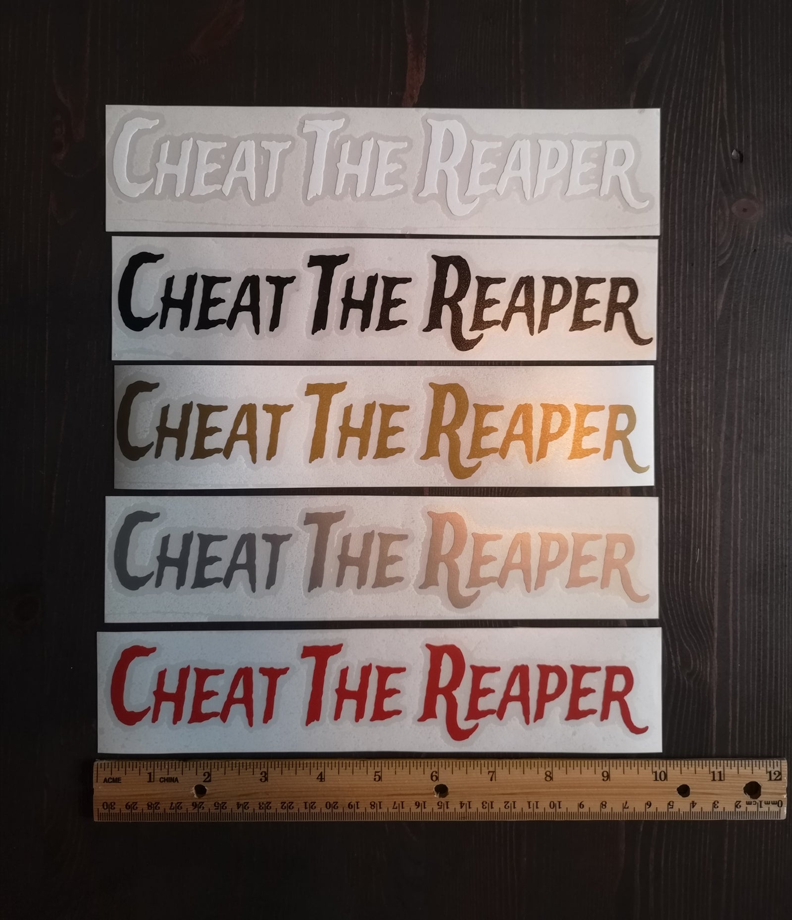Cheat the reaper decal