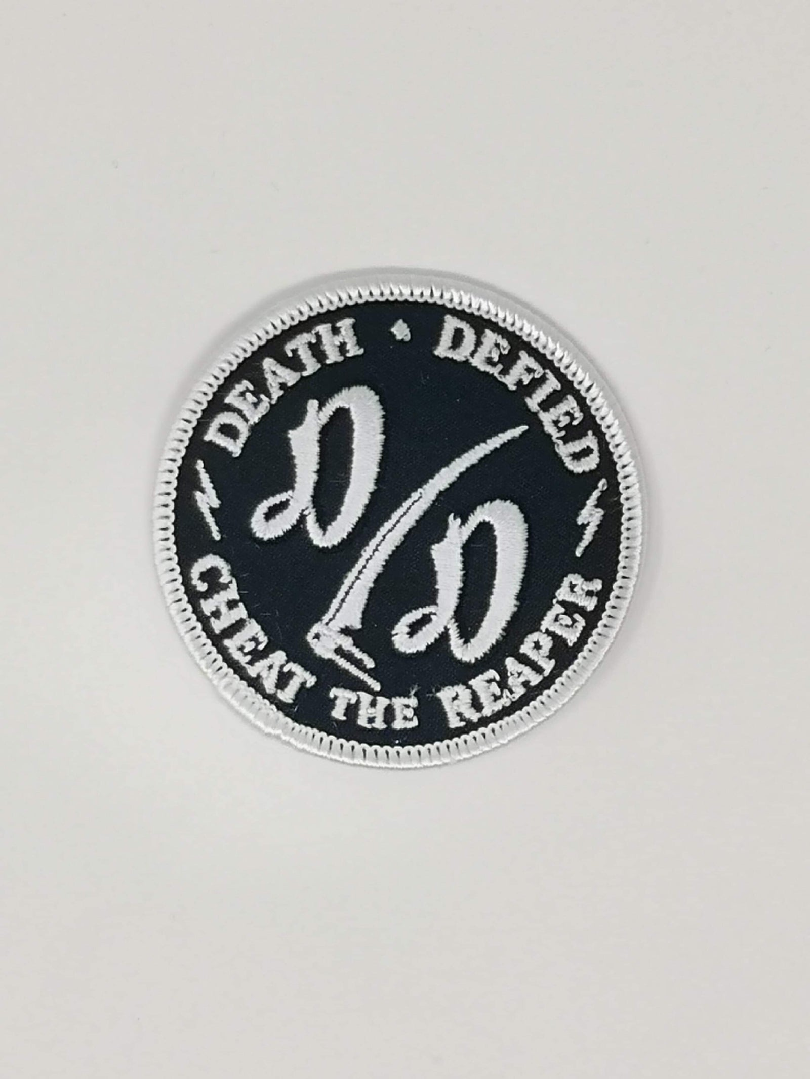 DD Patch White