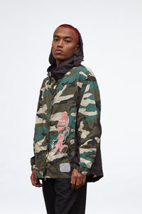 SBE + Lightwork Lightweight Jacket / Woodland Camouflage 001