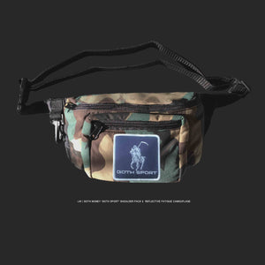 GOTH MONEY X LW 'GOTH SPORT' Reflective Camouflage Shoulder Pack
