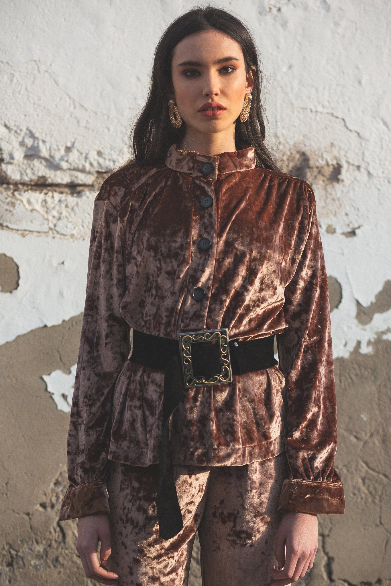 Guti Shirt - Iced Brown - Poppyfield the Label