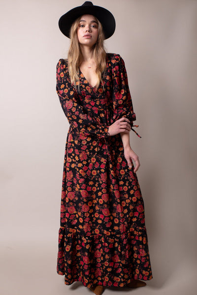 Sylvia Dress - Vintage Flowers - Poppyfield the Label