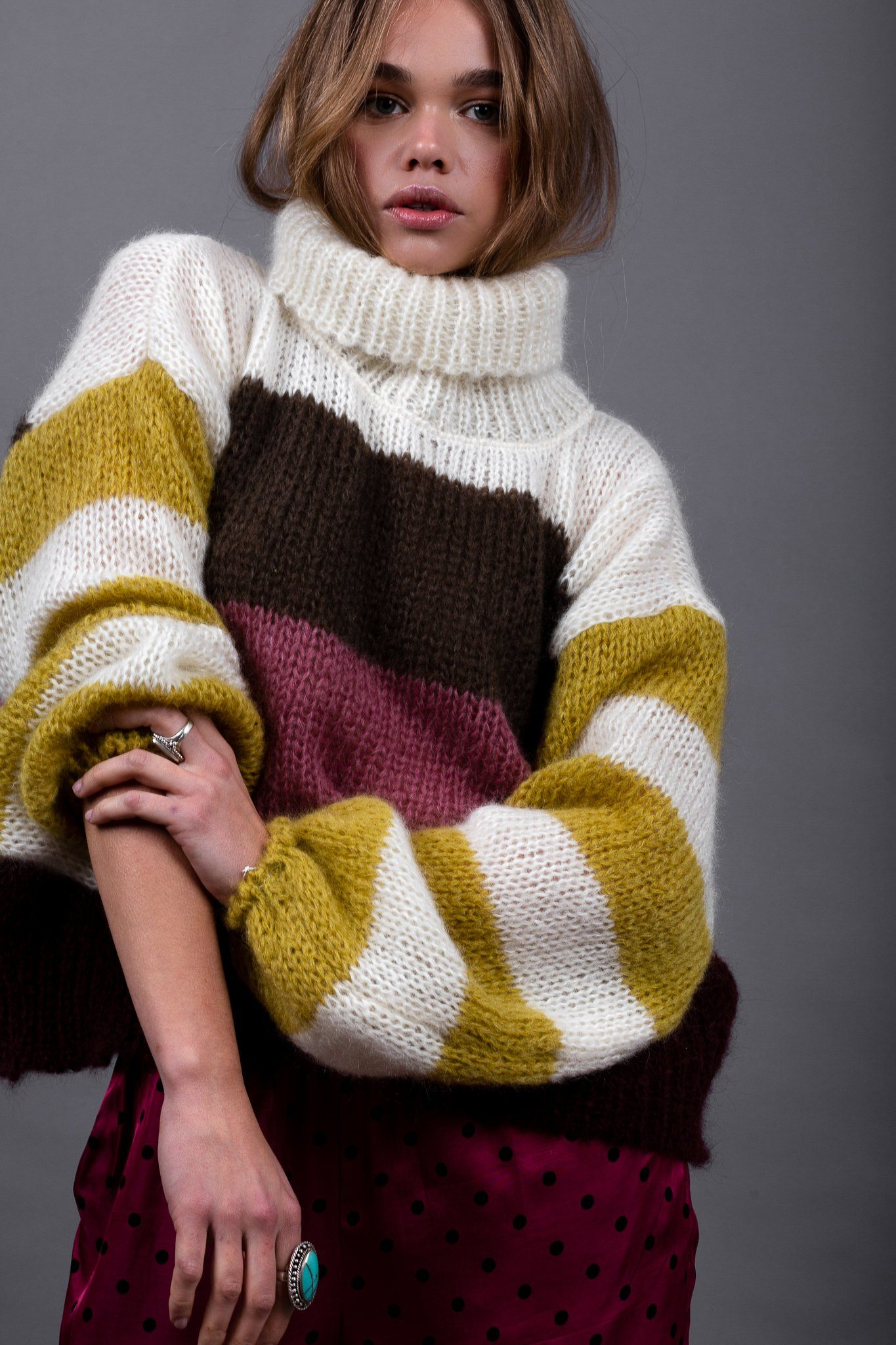 Xenita Sweater - Mustard - Poppyfield the Label