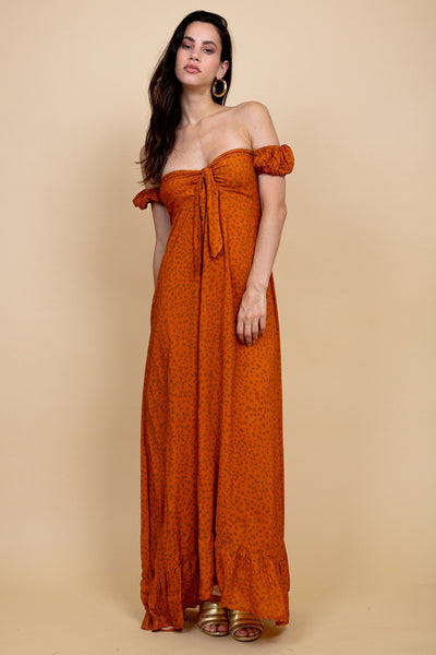 Hanalei Maxi Dress - Heart City - Poppyfield the Label