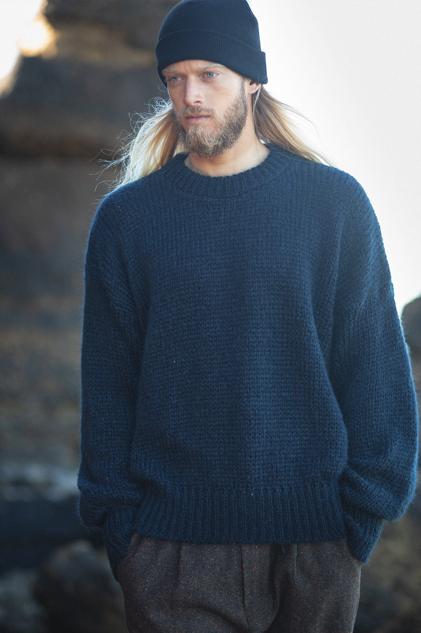 Aurélien Sweater - Dark Blue