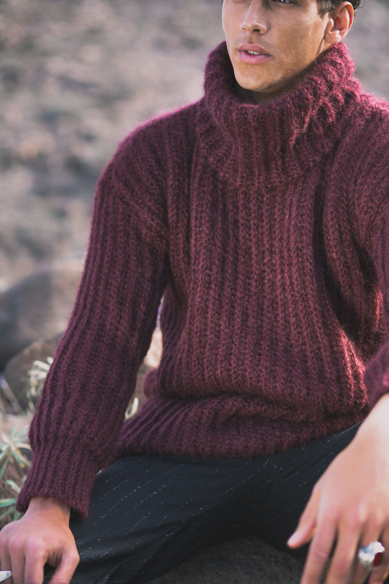 Torres Sweater - Dark Red - Poppyfield the Label