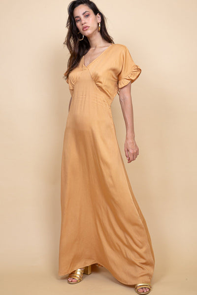 Puglia Dress- Russet - Poppyfield the Label