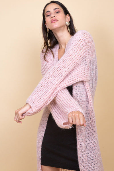 Shimla Cardigan - Light Pink - Poppyfield the Label