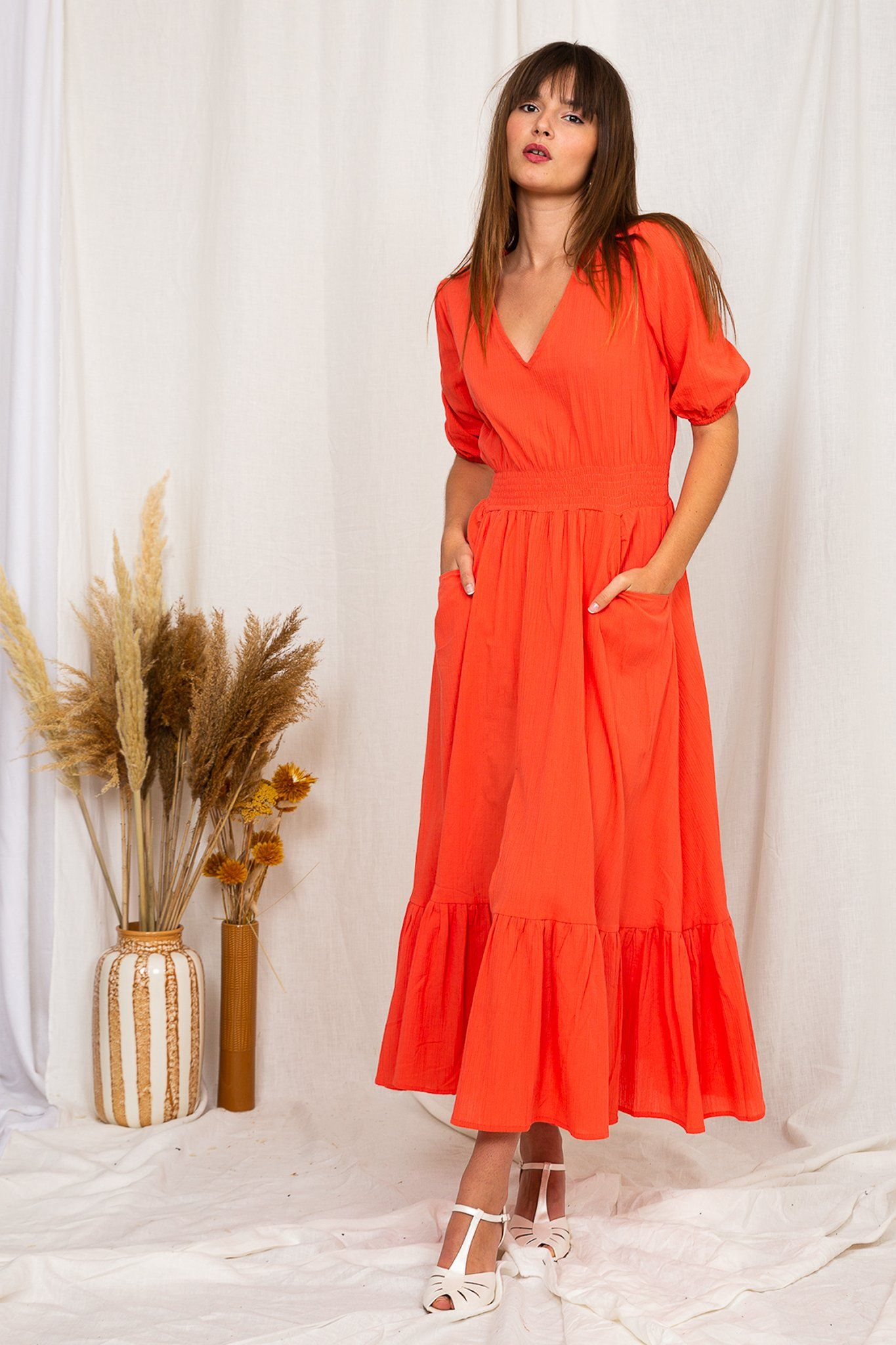 Laetizia Maxi Dress - Watermelon