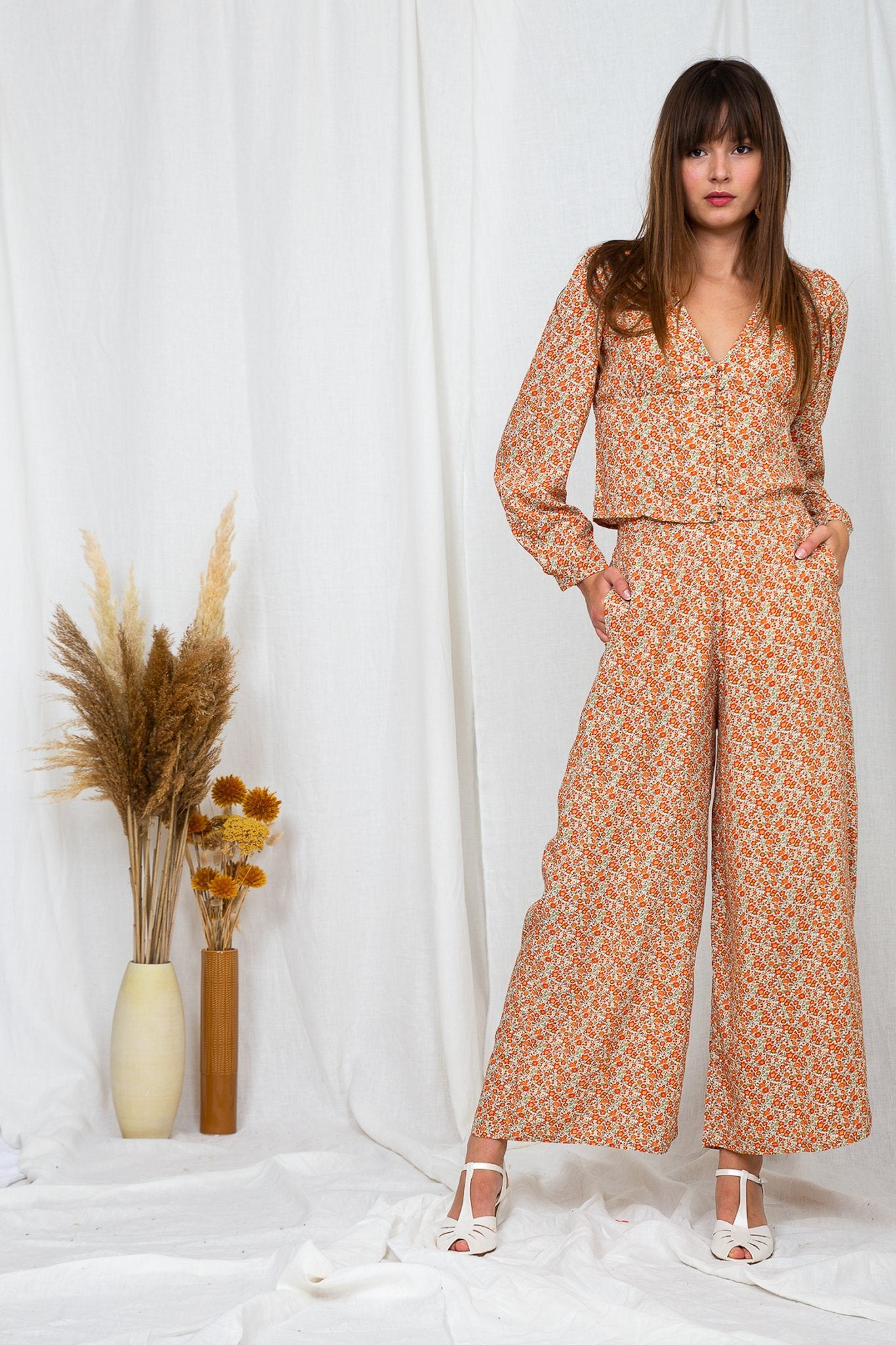 Pantalon Valencia - Liberty Orange