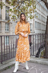 Isadora Dress - Savana Mustard
