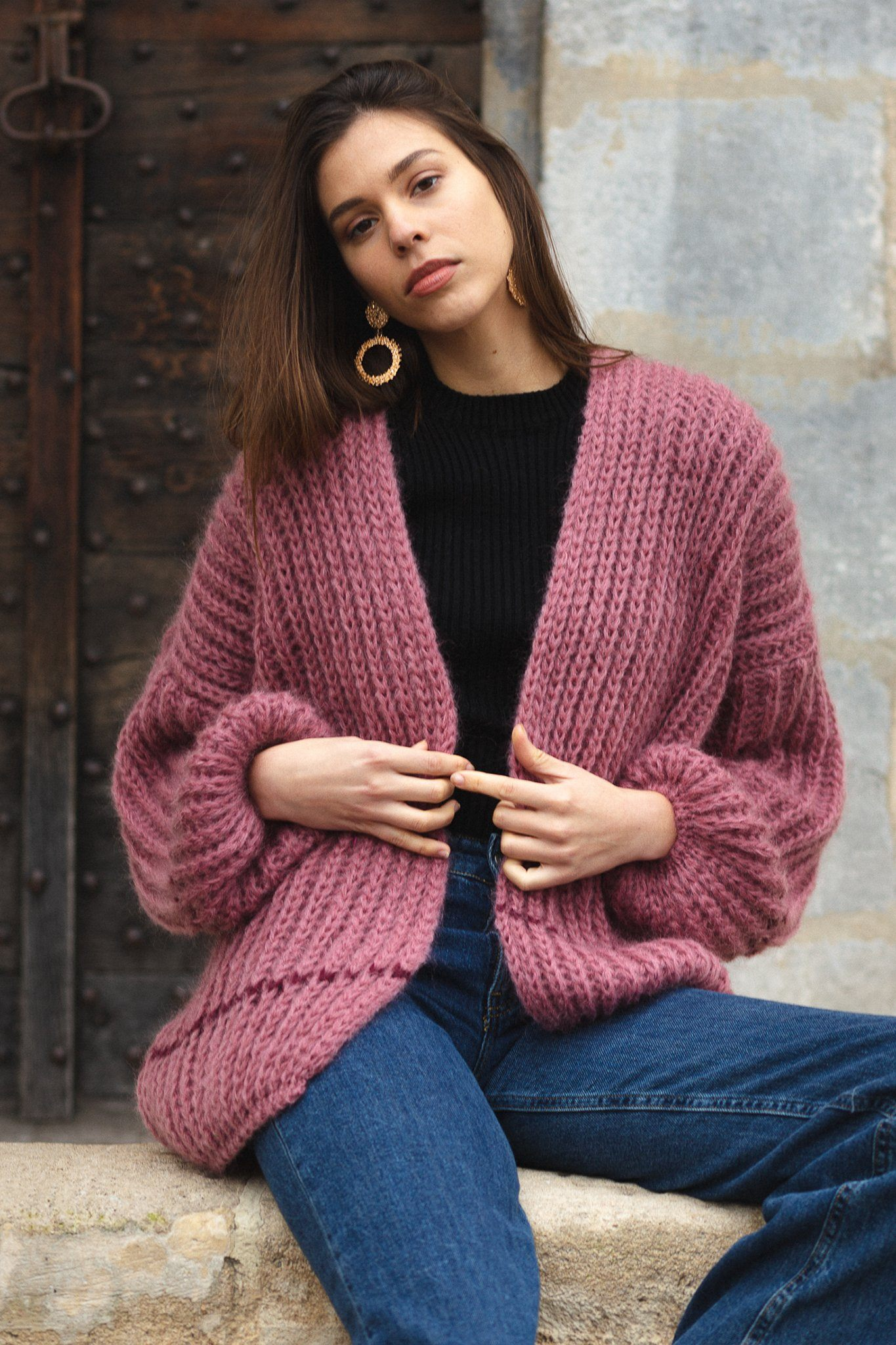 Cardigan Bardo - Moutarde