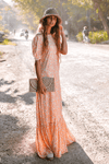 Eve Maxi Dress - Poppy Peach