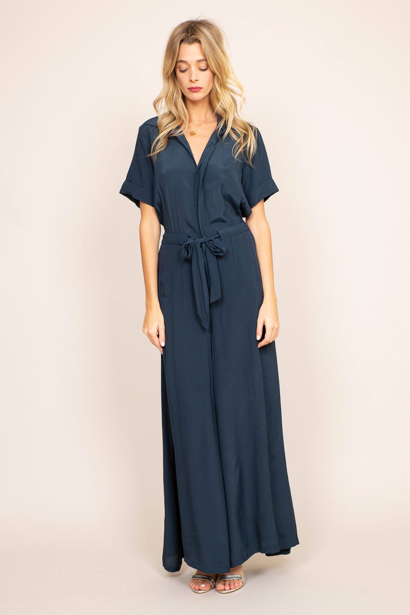 Valentina Navy Blue - Poppyfield the Label